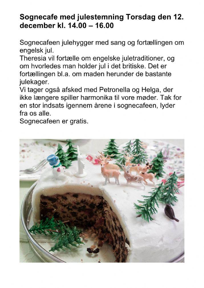 Sognecafé med julestemning 12/12